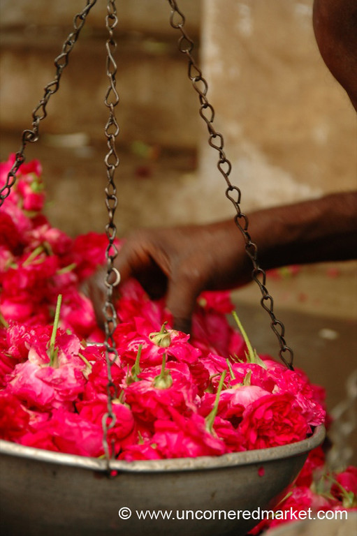 Flowers in the Balance: Madurai, India
