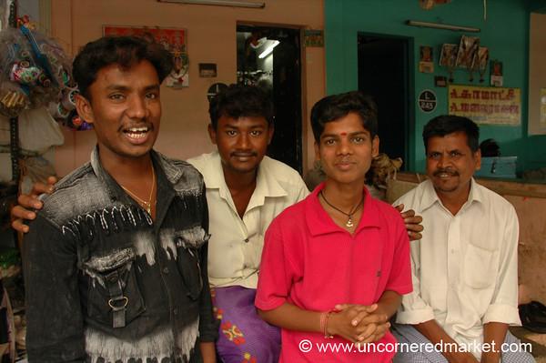 Men: Madurai, India