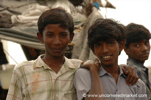 Boys: Madurai, India