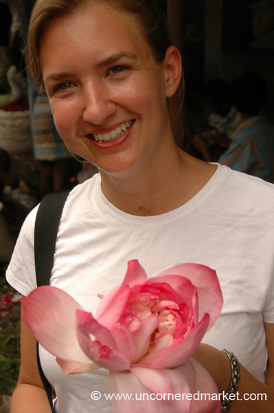 Madurai, India: Audrey's Bouquet