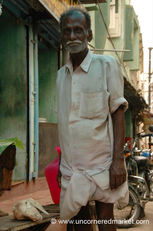 Madurai, India: A Man in Full