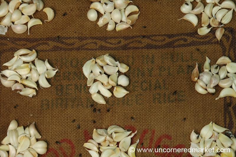 Madurai, India: Garlic Cloves