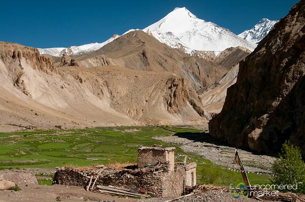 Hankar Village and Mountain Views - Ladakh, India