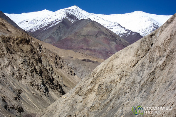 Snow Covered Mountains and Layers - Markha Valley Trek, Ladakh