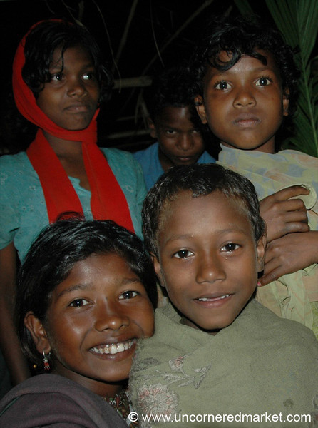 Young Indian Kids - West Bengal, India