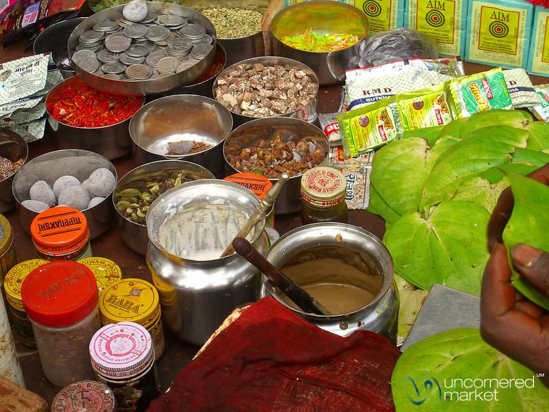 Making the Pan - Mumbai, India