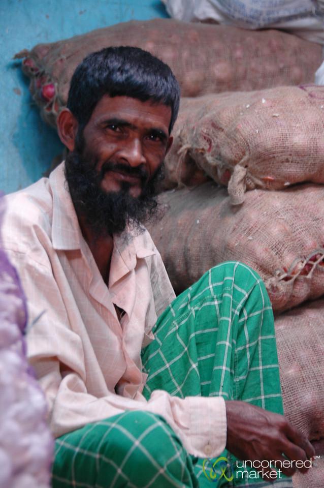 Vendor at Crawford Market - Mumbai, India