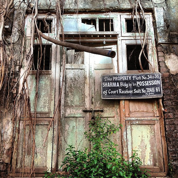 Favorite doorway candidate #20: One for the repo man, Mumbai