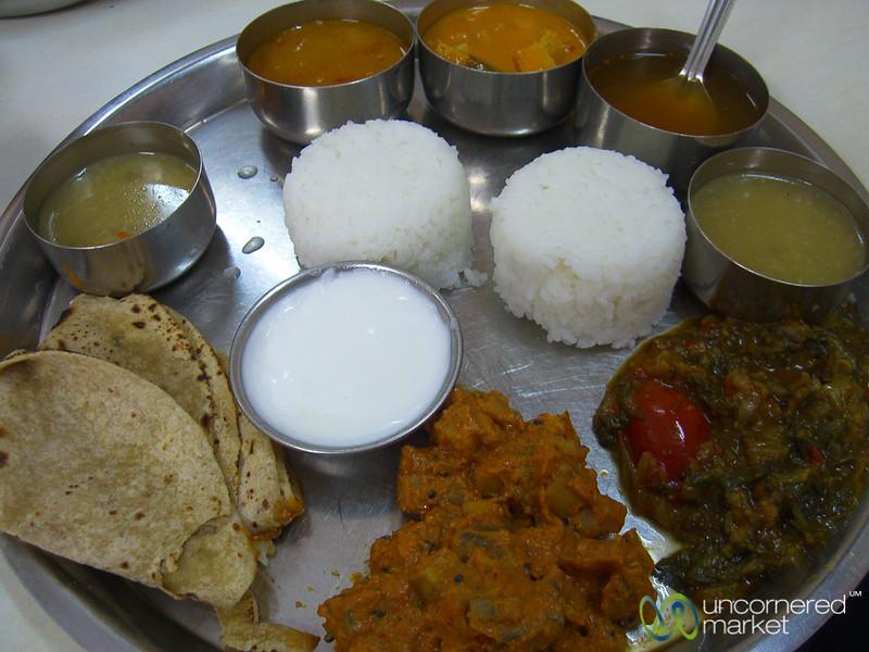 Vegetarian Thali - Mumbai, India