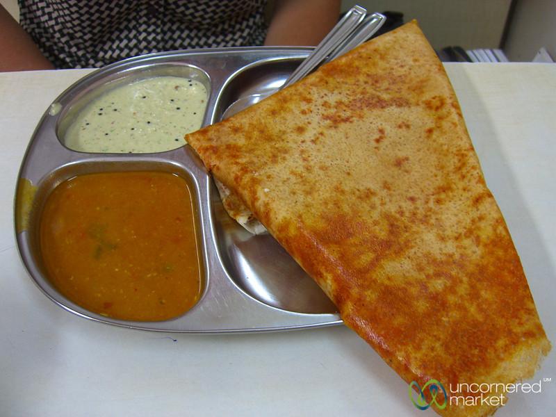 Delicious Mysore Dosa in Mumbai, India