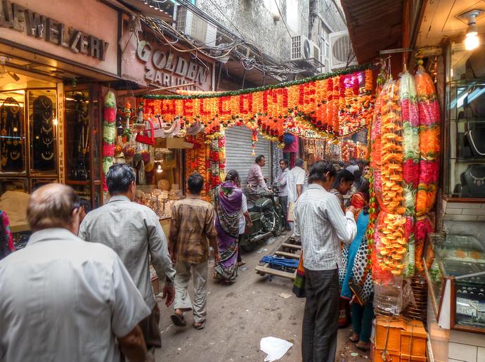 new delhi chandni chowk market
