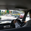 Inside a taxi in New Delhi.