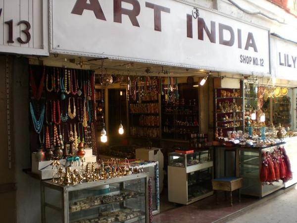 The Art India store in New Delhi.