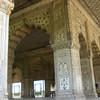 Inside the Red Fort in New Delhi.