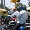 Traffic in New Delhi.