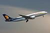 """VT-JWK Airbus A330-202 """"Jet Airways"""" c/n 888 Brussels/EBBR/BRU 30-03-08"""