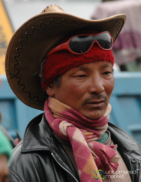 A Sikkim Sort of Cowboy - Tsomgo Lake