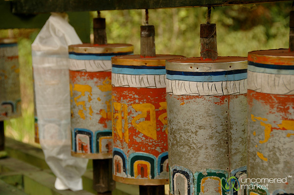 Fading Prayer Wheels - Lake Khecheopalri, Sikkim