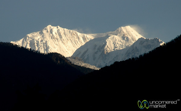 View of Mt. Khangchendzonga - Yuksom, Sikkim