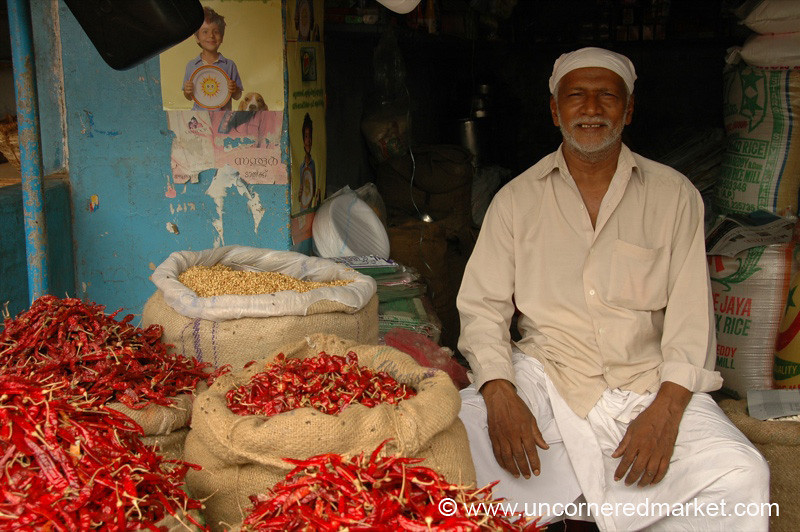Happy Pepper Man - Kollam, India