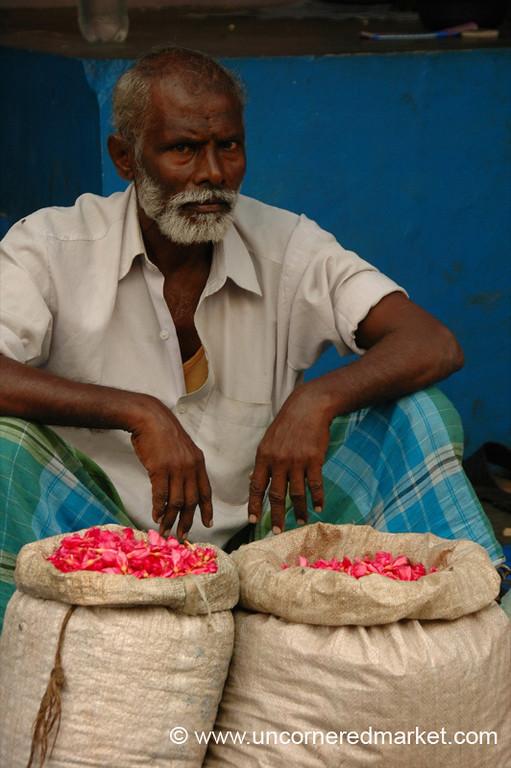 Flower Sacks: Madurai, India