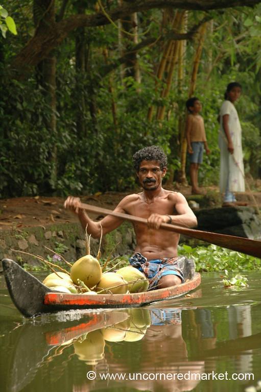 Coconut Boat: Kerala Backwaters