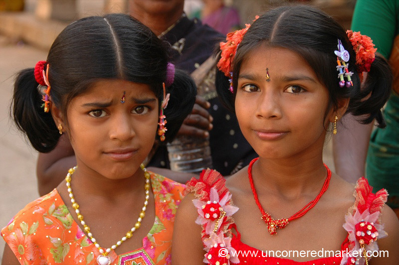 Indian Pigtails: Trichy, India