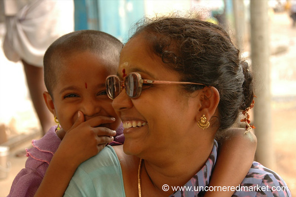 Madurai, India:  A Stitch