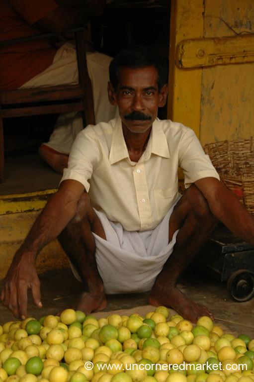 Lemon Man - Kollam, India