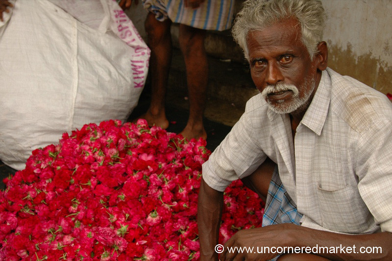 Red and Gray: Madurai, India