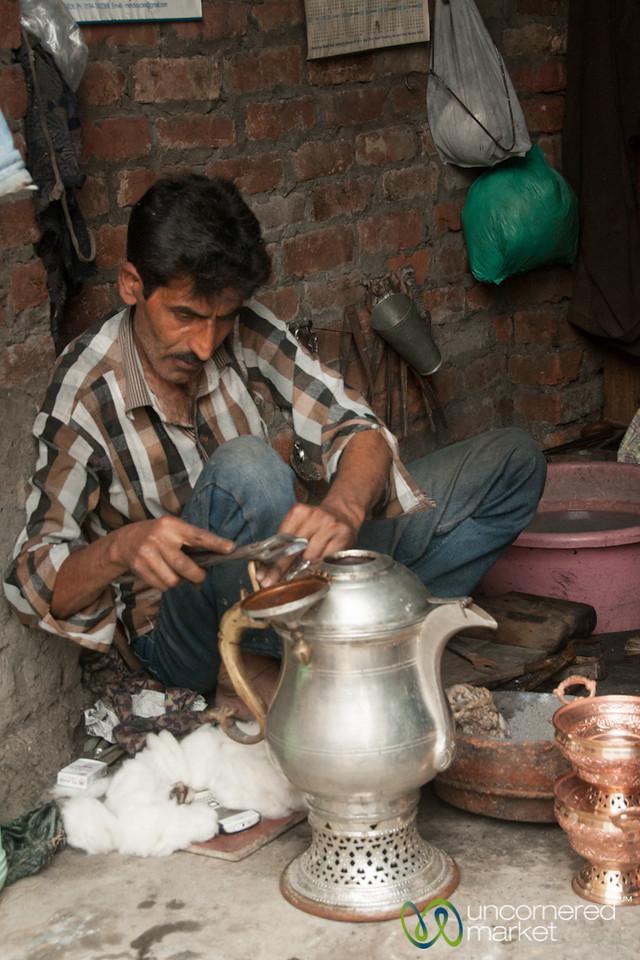 Metal Working in Srinagar - Kashmir, India