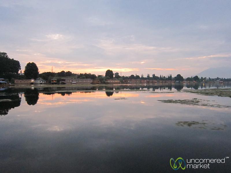 Sunset at Nagin Lake - Srinagar, Kashmir