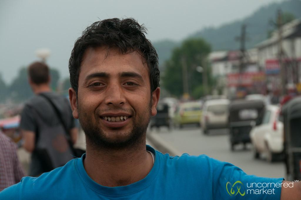 Shakira (Boat) Driver in Srinagar, India