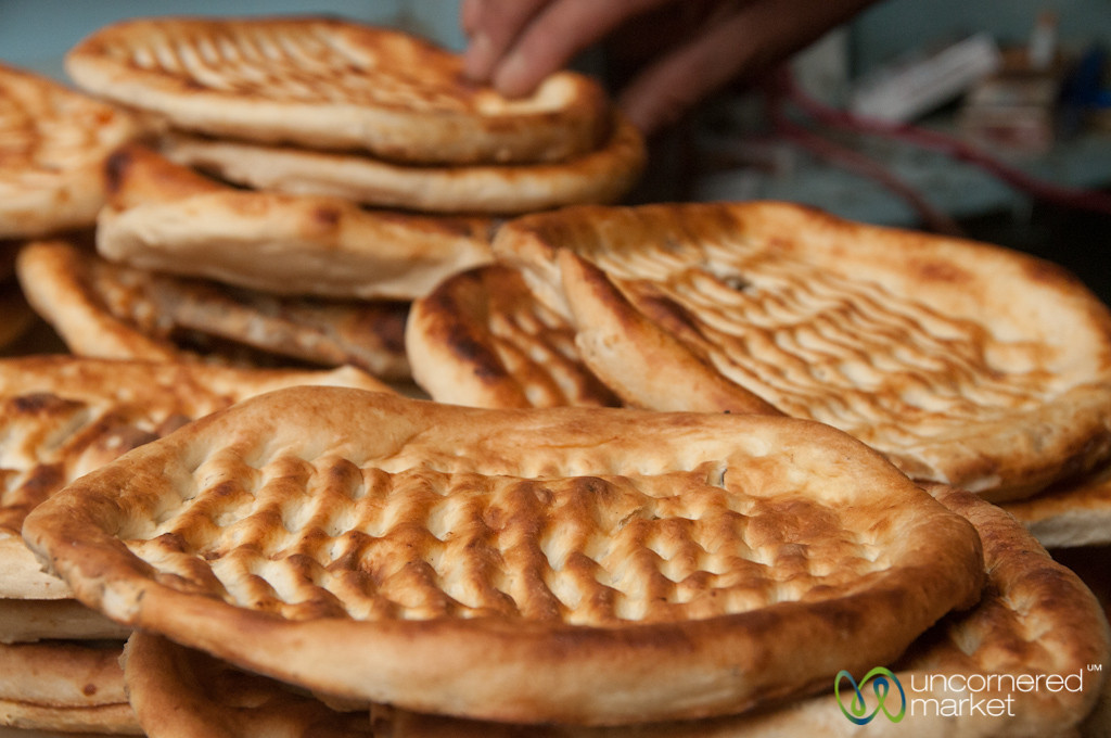 Kashmiri Bread (Tsot) in Srinagar, India
