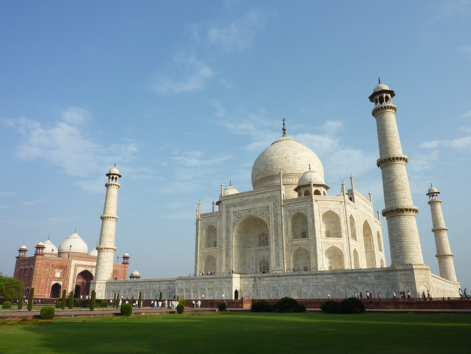 Taj Mahal, Agra - India