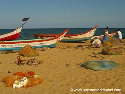Mamallapuram Boatscape