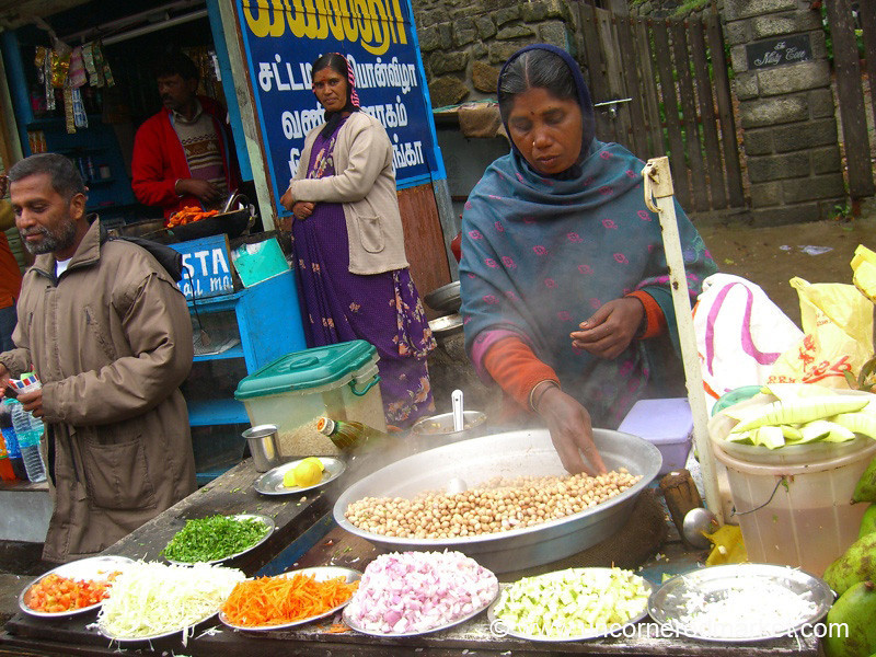 Chana Masala Time - Kodaikanal, India
