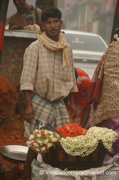 Colorful and Fragrant Bouquets - Kodaikanal, India