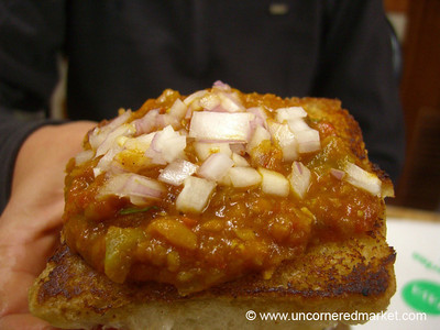 Pav Bhaji in Kodaikanal, India
