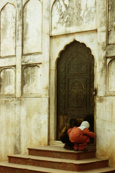 Peeping at Red Fort - Delhi, India