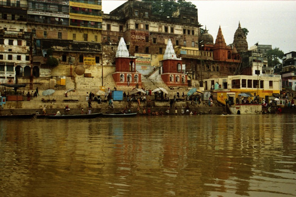 Varanasi Ghats on the Ganges - India