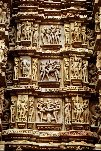 Temple Sculptures - Khajuraho, India