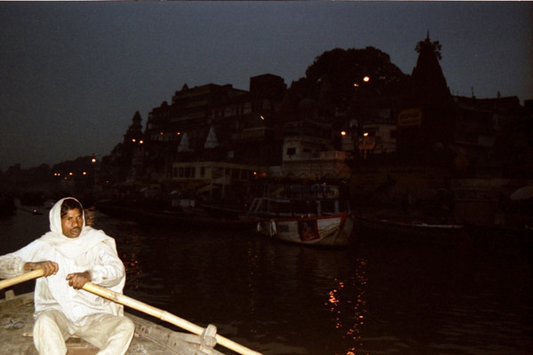 Sunrise Boat Ride on the Ganges - Varanasi (Benares), India