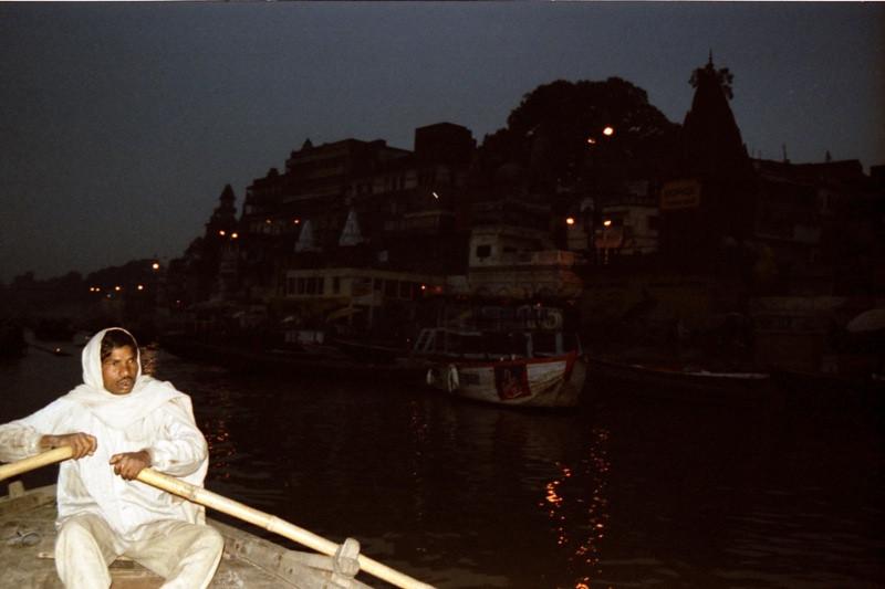Sunrise Boat Ride on the Ganges - Varanasi (Benares), India