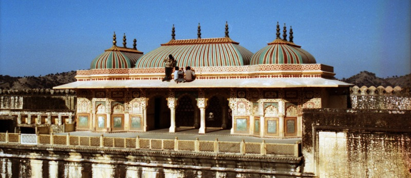 Rooftop at Amber Fort - Jaipur, India
