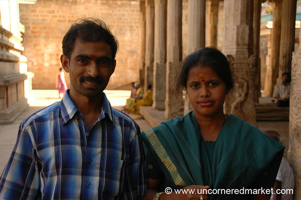 Man and Wife: Trichy, India