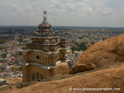 A View of Rock Fort: Trichy, India