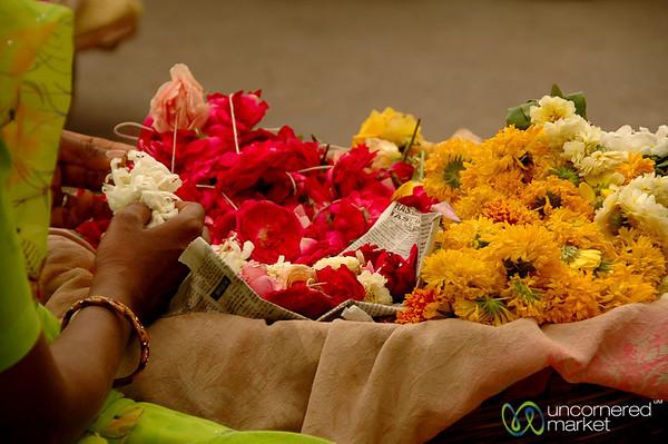 Flower Vendors in Udaipur, India