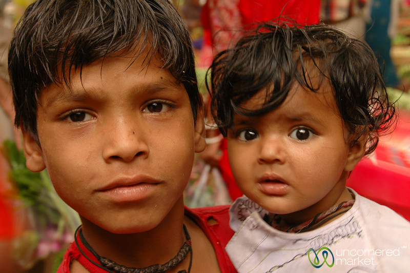 Big Brother and a Little One - Udaipur, India