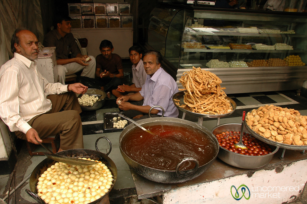 Sweets Guys of Udaipur, India